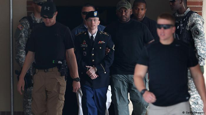 Bradley Manning Haftsrafe (Getty Images)