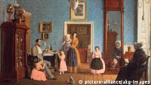 Biedermeier Familie E.Gaertner, Familie Hauschild Gem.1843