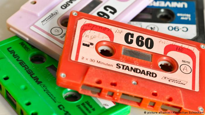 Cassette tapes in different colors Copyright: Maximilian Schönherr