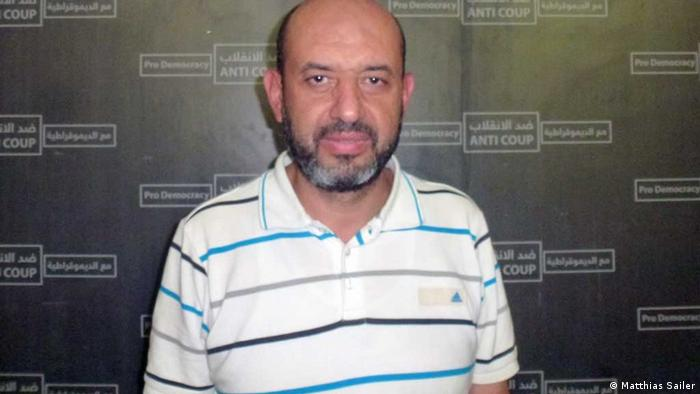 Ayman Abdel Ghani of the Muslim Brotherhood's Freedom and Justice Party (Photo: Matthias Sailer)
