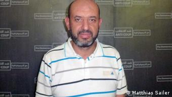 Ayman Abdel Ghani of the Freedom and Justice Party (photo: MATTHIAS SAILER)