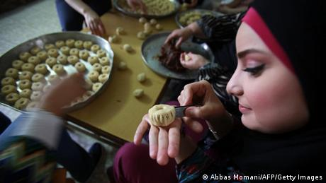 Fest des Fastenbrechens in Ramallah - Foto: AFP PHOTO/ABBAS MOMANI