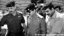 Thema Krieg Irak Iran Saddam Hussein 1984