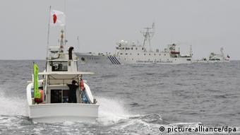 Inselstreit zwischen China und Japan