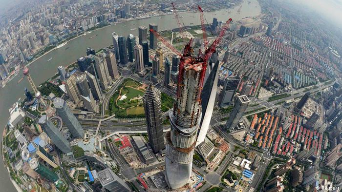 Shanghai Tower Turm China