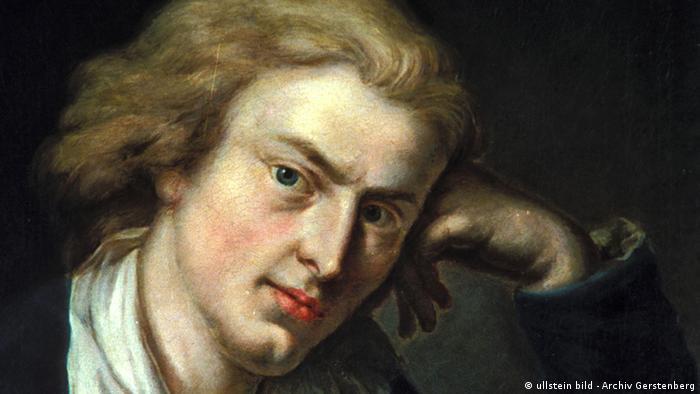 الشاعر والكاتب المسرحي الألماني فريدريش شيلر