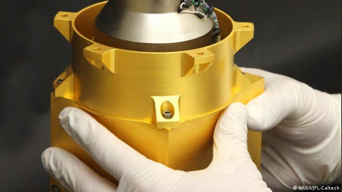 Radiation Assessment Detector (RAD) before it was placed in Curiosity Photo: NASA/JPL-Caltech