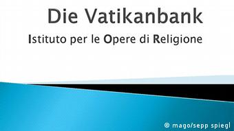 Logo der Vatikanbank (Foto: imago/sepp spiegl)