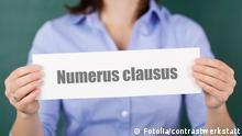 Symbolbild numerus clausus Universitäten