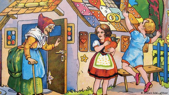 Hänsel- und Gretel-Zeichnung (Foto: ullstein bild - allOver)