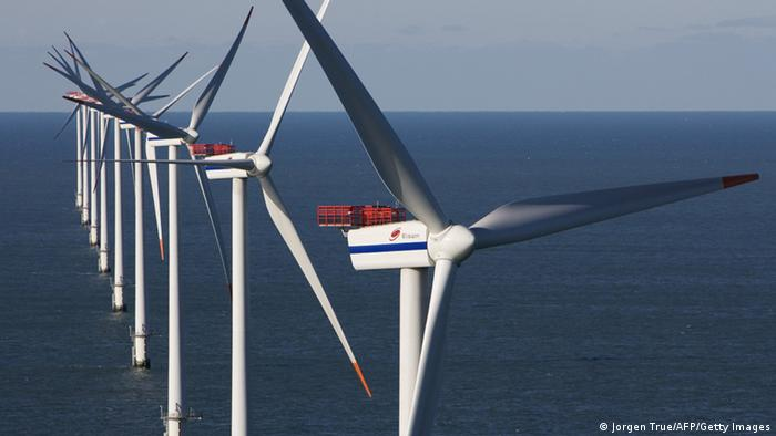 An offshore wind park