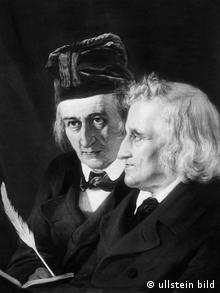 Deutschland Literatur Märchen Gebrüder Jacob und Wilhelm Grimm