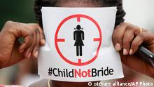 Nigeria Proteste gegen Kinderehe
