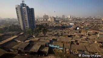 Dharavi Slum in Bombay