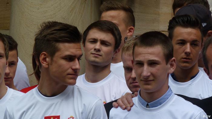 Polnische Fußballtalente in Deutschland- Treffen in Generalkonsulat RP in Köln. Foto: Alexandra Jarecka, 14.06 2013, Köln