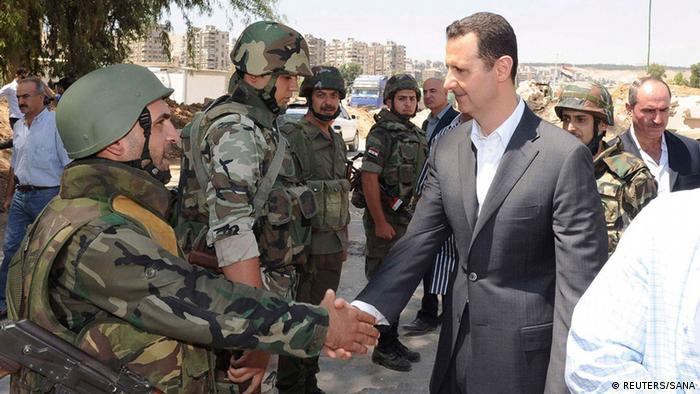 Asad u posjetu jedinicama sirijske vojske