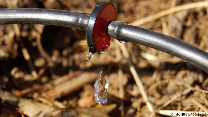 A drip-irrigation System (Photo: Joby Elliott / CC BY 2.0)