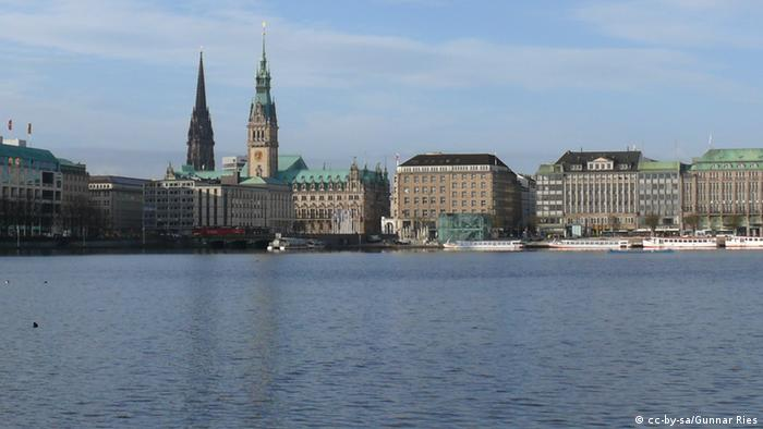 Hamburg cityscape. (Photo: cc-by-sa/Gunnar Ries)