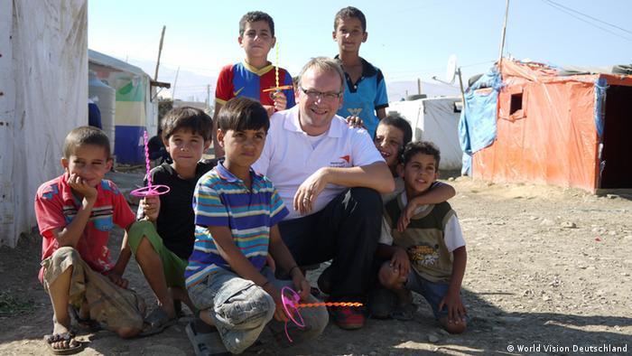 Christoph Waffenschmidt u izbjegličkom kampu u Libanonu