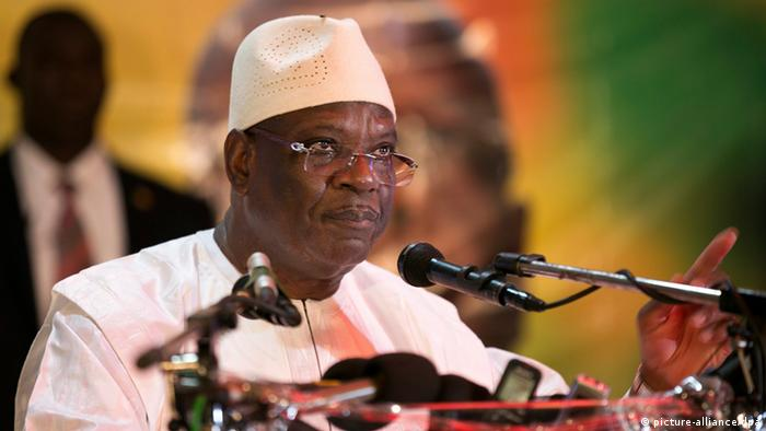 Image result for Ibrahim Boubacar Keita