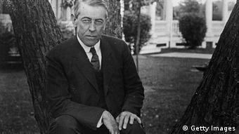 Thomas Woodrow Wilson (Foto by Topical Press Agency/Getty Images)