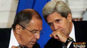 Sergey Lavrov und John Kerry