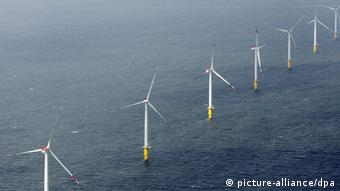 Offshore-Windpark Riffgat (Foto: picture-alliance/dpa)