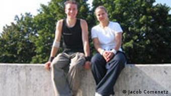 Sandra Hess und Andreas Kalteis, Parkour
