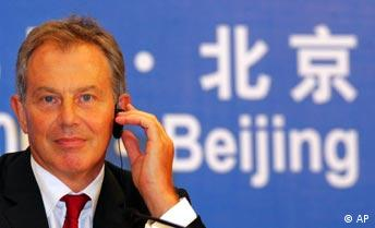 Tony Blair in China