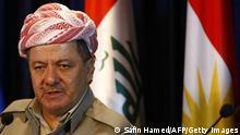 Masud Barzani Kurdenführer Irak ARCHIV 2012