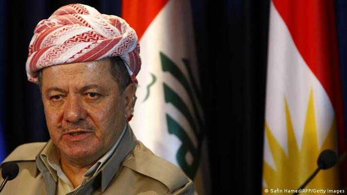 Massoud Barzani, president of Iraq's autonomous region of Kurdistan