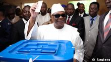 Präsidentschaftswahl in Mali Ibrahim Boubacar Keita 11.08.2013