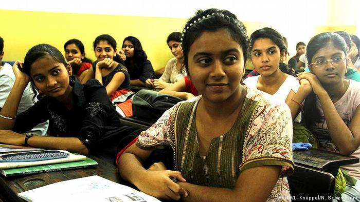 Namaste Und Guten Tag Deutschlernen In Indien Bildung