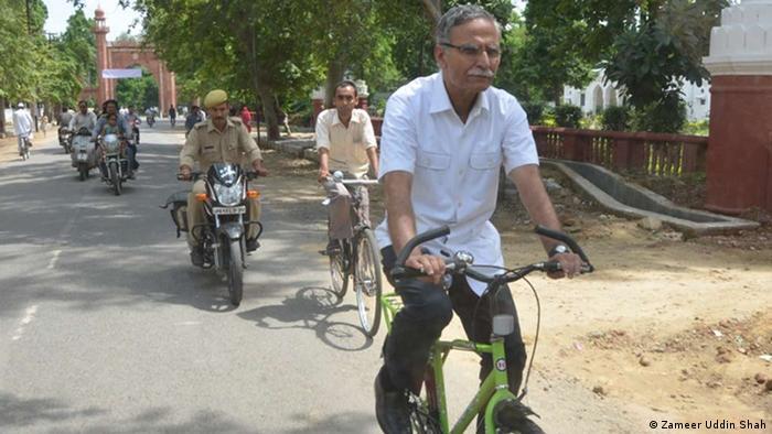 Indien Vizepräsident der Universität Aligarh Muslim University Zameer Uddin Shah