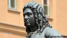 Deutschland Musik Denkmal Georg Friedrich Händel in Halle
