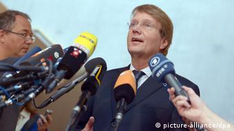 Chancellery Chief of Staff Ronald Pofalla ( (Rainer Jensen/dpa)