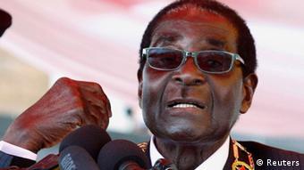 Portrait of Zimbabwe's President Robert Mugabe. Photo: REUTERS/Philimon Bulawayo