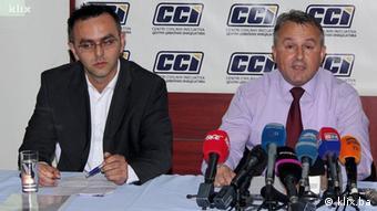 Danis Telić und Ivica Ćavar