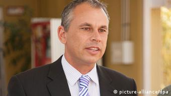Northern Territory Chief Minister of the Northern Territory Adam Giles (c) EPA/NT GOVERNMENT