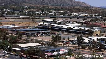 View of Alice Springs, Northern Territory, Australia.