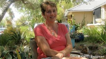 Amy Zeldenrust in her garden (photo: Christina Bergman)