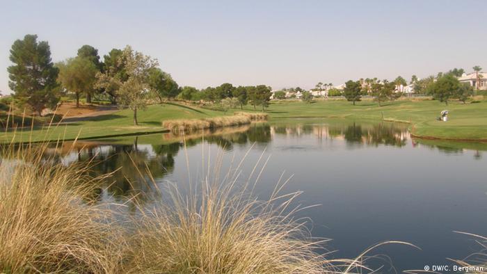 Golf course (photo: Christina Bergman)