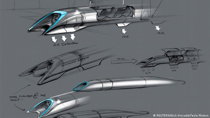 Hyperloop Transportsystem