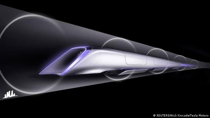 Hyperloop Transportsystem (REUTERS/Nick Kincade/Tesla Motors)