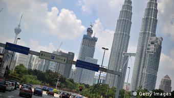 Wahrzeichen Kuala Lumpurs: die Patronas-Türme (AFP)