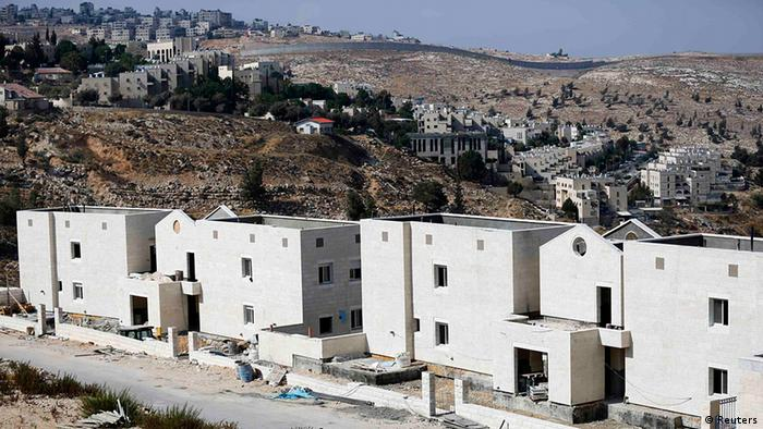 Bau israelischer Siedlungen, hier Pisgat Zeev bei Jerusalem (foto: REUTERS)