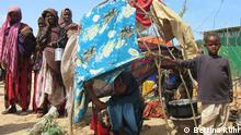 Somalia Vertriebenenlager Darwisch in Mogadischu
