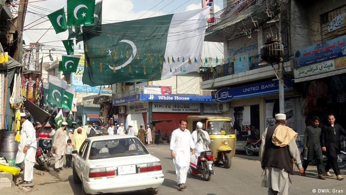 People in Swat celebrate independence (Photo: DW/Adnan Gran, Swat, Pakistan)