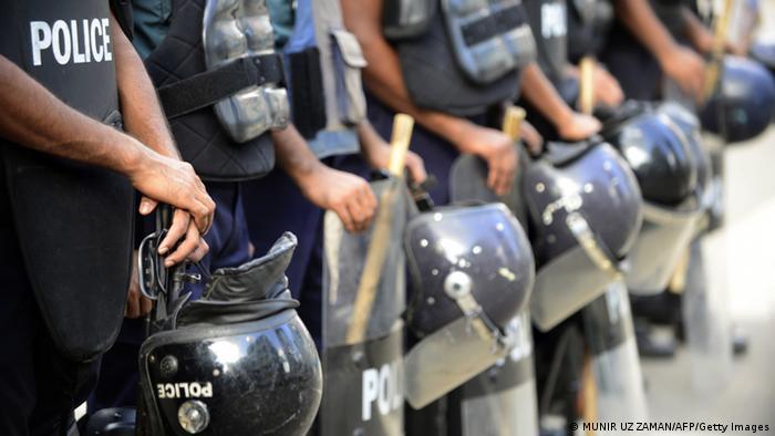 Bangladesh Ausschreitungen Streik