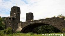 Im Brückenrest findet sich heuer das Friedensmuseum Brücke von Remagen.